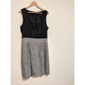 The Limited Dress in Houndstooth